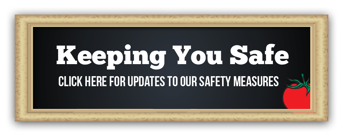 Keeping you safe - our COVID-19 Safety Measures